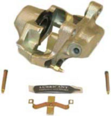 Beck Arnley 077-1241S Brake Caliper - Natural, OE Replacement, Semi-loaded (Caliper & Hardware), Direct Fit