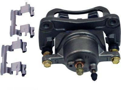 Beck Arnley 077-1511S Brake Caliper - Natural, OE Replacement, Semi-loaded (Caliper & Hardware), Direct Fit