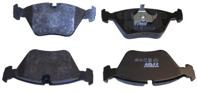 1989-1991 Audi 100 Quattro Brake Pad Set Beck Arnley Audi Brake Pad Set 082-1380