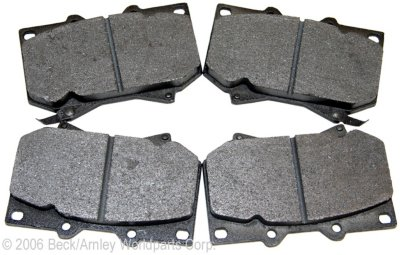 2001-2004 Toyota Sequoia Brake Pad Set Beck Arnley Toyota Brake Pad Set 086-1618C
