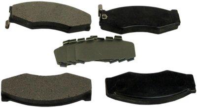 1990-1992 Infiniti M30 Brake Pad Set Beck Arnley Infiniti Brake Pad Set 087-1246