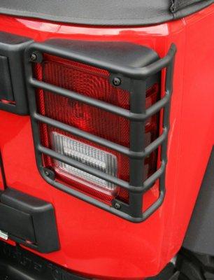 2007-2016 Jeep Wrangler (JK) Tail Light Guard Rugged Ridge Jeep Tail Light Guard 11226.02 Deal