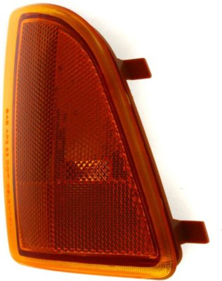 Replacement 18-3410-01 Corner Light - Amber Lens, Plastic Lens, DOT, SAE compliant, Direct Fit