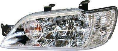 2002-2003 Mitsubishi Lancer Headlight Replacement Mitsubishi Headlight 3141128LAS