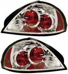 Elegante 81-5823-00 Tail Light - Clear Lens, DOT, SAE compliant, Direct Fit