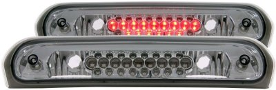Anzo A1R531002 Third Brake Light - Clear lens; Smoke Housing, Plastic Lens, DOT, SAE compliant, Direct Fit