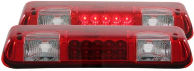 Anzo A1R531003 Third Brake Light - Clear & Red Lens, Plastic Lens, DOT, SAE compliant, Direct Fit