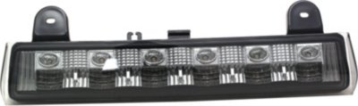 Anzo A1R531041 Third Brake Light - Clear lens; Smoke Housing, Plastic Lens, DOT, SAE compliant, Direct Fit