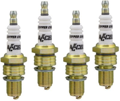 Accel A3501424 U-Groove Spark Plug - Direct Fit