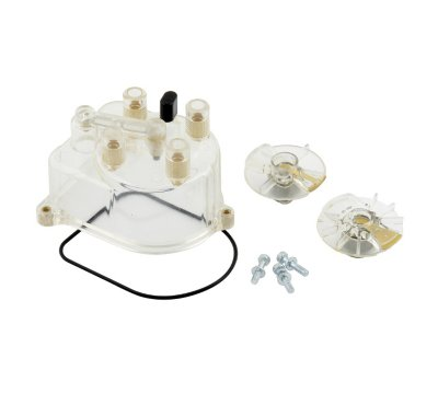 Accel A3511069 Distributor Cap - Clear, Direct Fit