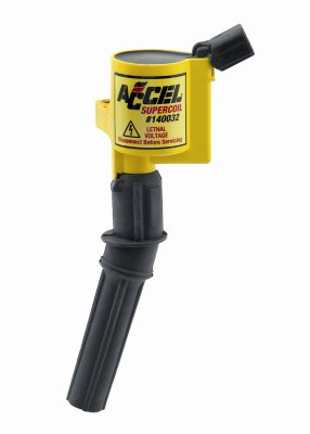 Accel A35140032 SuperCoil Ignition Coil - Coil pack, Direct Fit