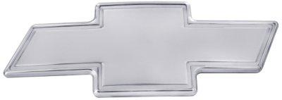 All Sales A6896020P Emblem - Polished, Aluminum, Logo, Grille emblem, Direct Fit