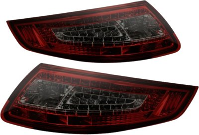 Spyder ALT-ON-P99705-LED-RS LED Tail Light - Smoked Lens; Chrome Interior, DOT, SAE compliant, Direct Fit