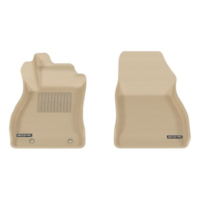 Aries ARSNS03111502 3D Floor Liner Floor Mats - Tan, Rubberized, Thermoplastic, All-Weather, Molded Floor Liner, Direct Fit