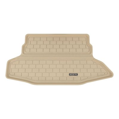 Aries ARSNS0311302 3D Floor Liner Cargo Mat - Tan, Rubberized, Thermoplastic, All-Weather, Molded Cargo Liner, Direct Fit