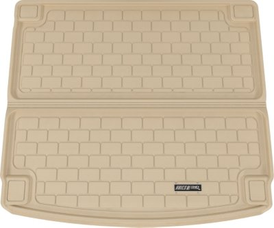 Aries ARSPO0021302 3D Floor Liner Cargo Mat - Tan, Rubberized, Thermoplastic, All-Weather, Molded Cargo Liner, Direct Fit