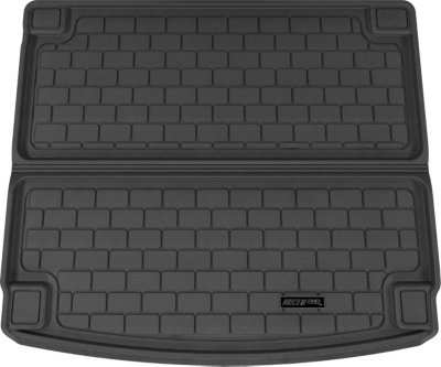 Aries ARSPO0021309 3D Floor Liner Cargo Mat - Black, Rubberized, Thermoplastic, All-Weather, Molded Cargo Liner, Direct Fit