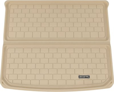 Aries ARSPO0051302 3D Floor Liner Cargo Mat - Tan, Rubberized, Thermoplastic, All-Weather, Molded Cargo Liner, Direct Fit