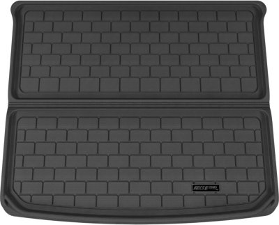 Aries ARSPO0051309 3D Floor Liner Cargo Mat - Black, Rubberized, Thermoplastic, All-Weather, Molded Cargo Liner, Direct Fit