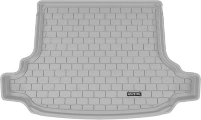 Aries ARSSB0031301 3D Floor Liner Cargo Mat - Gray, Rubberized, Thermoplastic, All-Weather, Molded Cargo Liner, Direct Fit