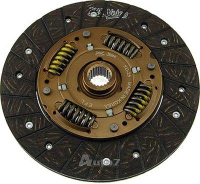2001-2005 Kia Rio Clutch Disc Auto 7 Kia Clutch Disc 221-0233