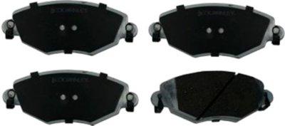 2002-2008 Jaguar X-Type Brake Pad Set Beck Arnley Jaguar Brake Pad Set 085-1743
