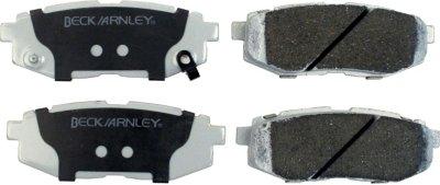 Beck Arnley BEC0851870 Premium Brake Pad Set - Ceramic, Direct Fit