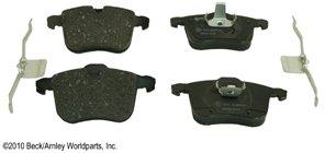 Beck Arnley BEC0891813 Foreign Branded Brake Pad Set - Organic, Direct Fit
