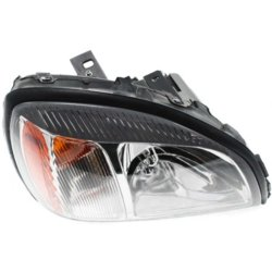 2002 cadillac deville headlight autopartswarehouse replacement halogen headlight passenger side bulb s clear lens