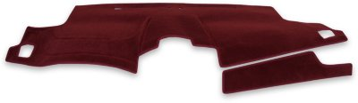Coverking C37CDCP7SN7034 Custom Dash Cover - Red, Carpet, Mat, Direct Fit