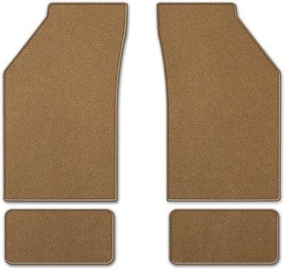 Coverking C37CFMBM12PN7234 Custom Floor Mats - Tan, Carpet, Carpet, Flat Floor Mat, Direct Fit