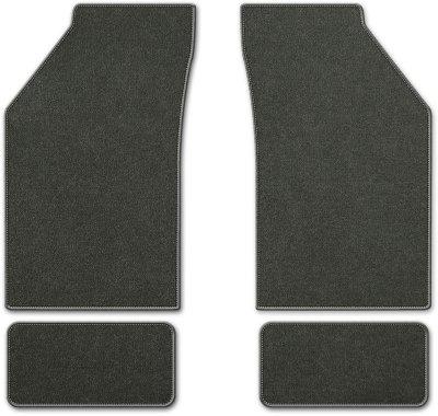 Coverking C37CFMBM2PN7241 Custom Floor Mats - Charcoal, Carpet, Carpet, Flat Floor Mat, Direct Fit