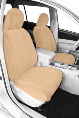 CalTrend CALPR10605RA OE Velour Seat Cover - Classic sandstone, Velour, Solid, Direct Fit