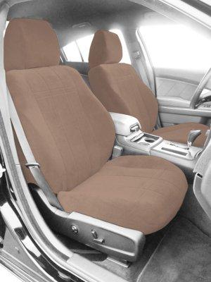 CalTrend CALPR11706RA OE Velour Seat Cover - Classic beige, Velour, Solid, Direct Fit
