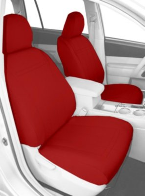 CalTrend CALPT10702NA Neosupreme Seat Cover - Red, Neosupreme, Solid, Direct Fit