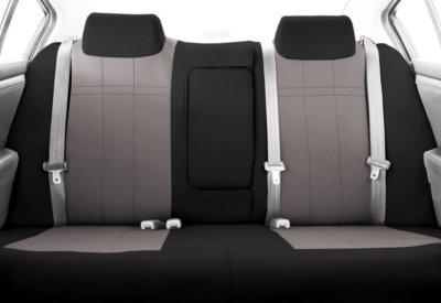 CalTrend CALSU12108NN Neosupreme Seat Cover - Black sides and light gray insert, Neosupreme, 2-tone, Direct Fit