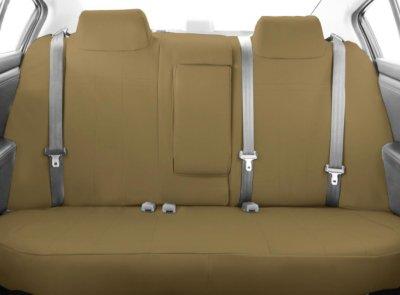 CalTrend CALTY19306DA Dura-Plus Seat Cover - Beige, Cordura Canvas, Solid, Direct Fit
