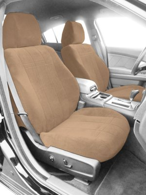 CalTrend CALTY49605RA OE Velour Seat Cover - Classic sandstone, Velour, Solid, Direct Fit