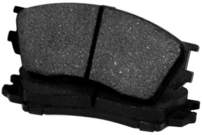 Centric CE102.04530 C-Tek Brake Pad Set - Semi-metallic, Direct Fit