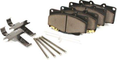 Centric CE105.11020 Posi-Quiet Brake Pad Set - Ceramic, Direct Fit