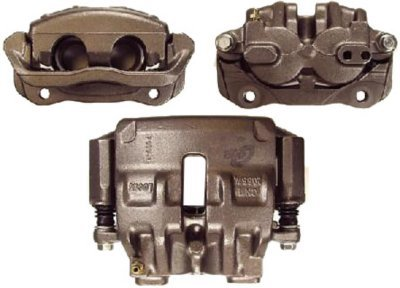 Centric CE142.22013 Posi-Quiet Brake Caliper - Natural, OE Replacement, Loaded (Caliper, Hardware & Pads), Direct Fit
