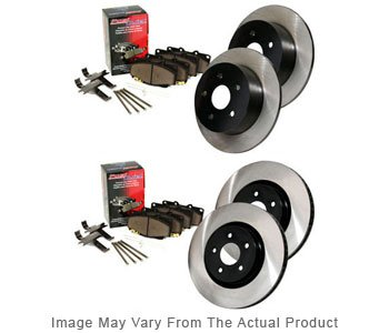 Image of 20072012 Nissan Altima Brake Disc and Pad Kit Centric Nissan Brake Disc and Pad Kit BKB300598