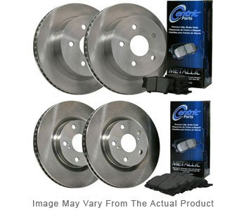 Centric CEBKB304554 C-Tek Brake Disc and Pad Kit