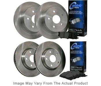 Image of 20022004 Honda Odyssey Brake Disc and Pad Kit Centric Honda Brake Disc and Pad Kit BKB304695