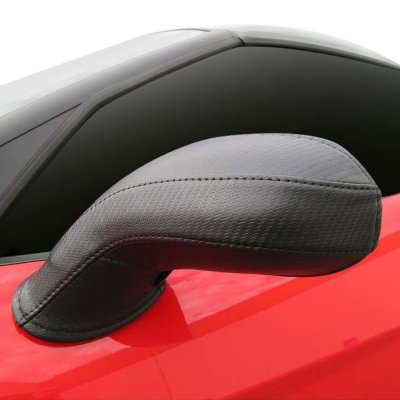 Colgan Custom CLGBM3801CF Mirror Bra - Carbon Fiber, Vinyl, Direct Fit