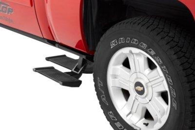Bestop D347541415 TrekStep Side Steps - Powdercoated Black, Aluminum, Side mount, Direct Fit