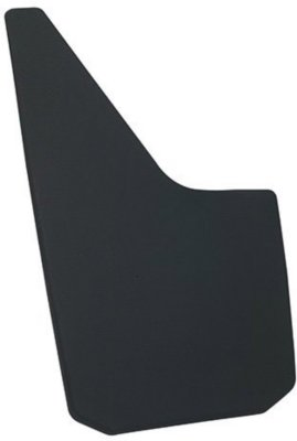 Dee Zee D3717939 Mud Flaps - Black, Rubber, Direct Fit