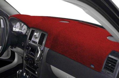 Dash Designs DSHD12370VRD Plush-Velour Dash Cover - Red, Velour, Mat