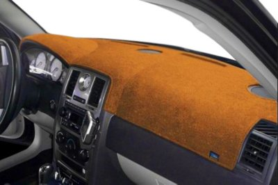 Dash Designs DSHD14352VSD Plush-Velour Dash Cover - Tan, Velour, Mat