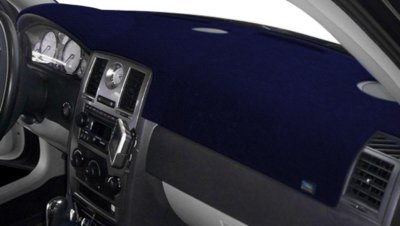 Dash Designs DSHD20090VDB Plush-Velour Dash Cover - Blue, Velour, Mat